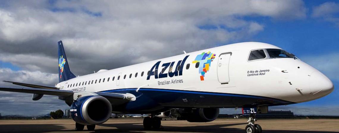 Capacidade total deve chegar a 70%, segundo projeção (Foto: Divulgação/Azul)
