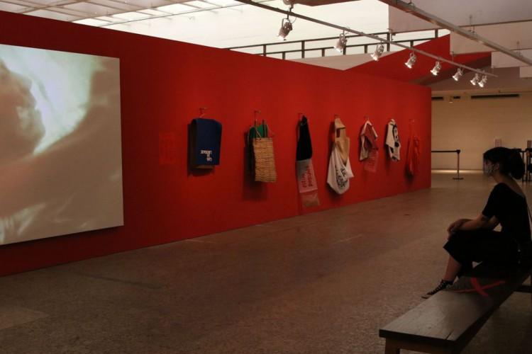 São Paulo - Reabertura do Museu de Arte de São Paulo - Masp conta com exposição do artista Hélio Oiticica, na Avenida Paulista. (Foto: Rovena Rosa/Agência Brasil)
