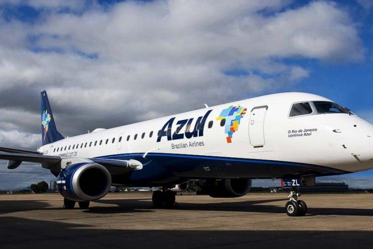 Azul Linhas Aéreas decide retomar viagens (Foto: Divulgação Azul)
