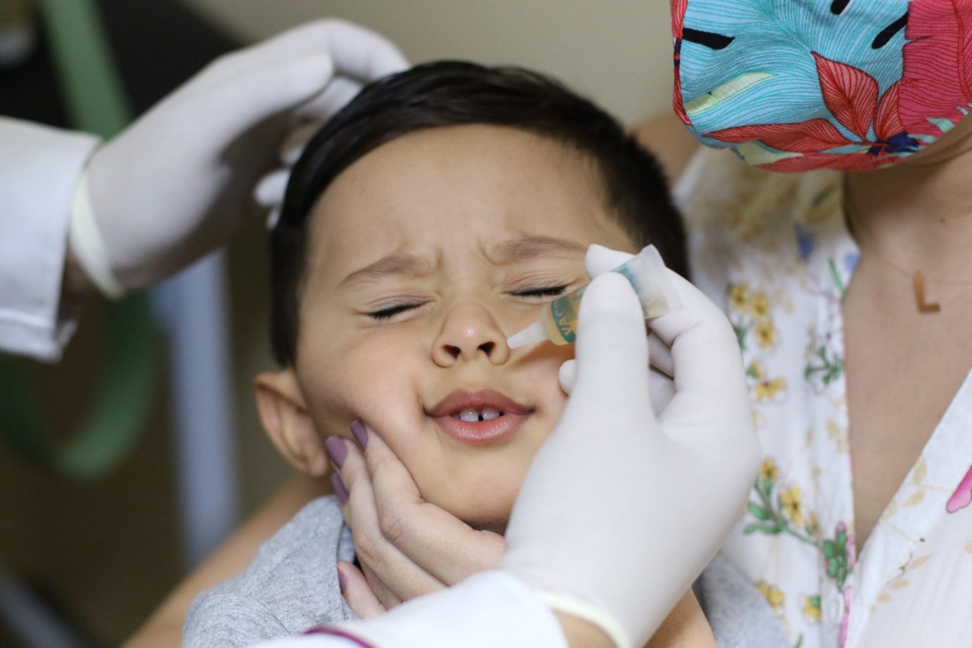 DIA D da campanha nacional de vacinação ocorreu no último sábado (Foto: Fabio Lima)