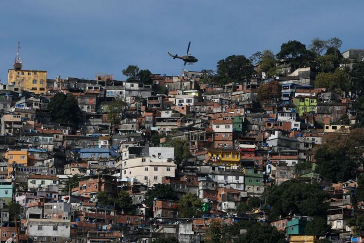 Rio de Janeiro - Operação de segurança contra confrontos entre traficantes na favela da Rocinha. (Foto:  Fernando Frazão/Agênci Brasil) (Foto: Fernando Frazão/Agência Brasil)