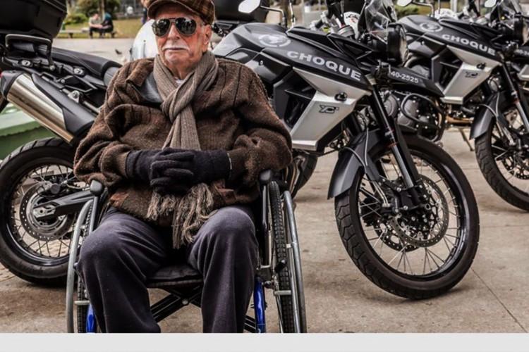 Morre no Rio, aos 104 anos, policial militar mais antigo do estado, o carioca João Freire Jucá (Foto: Reprodução Instagram/ Policia militar do Rio deJaneiro)