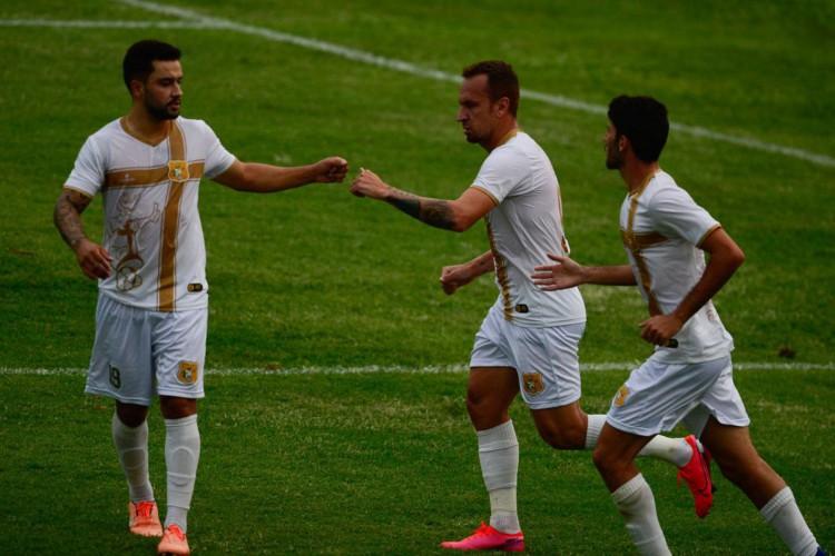 Brasiliense e Palmas se enfrentam no estádio Boca do Jacaré, pela quinta rodada da Série D do Campeonato Brasileiro. (Foto: Marcello Casal JrAgência Brasil)