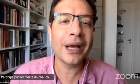 Renato Roseno em lançamento virtual do Manifesto de criação da Bancada da Renda Básica.