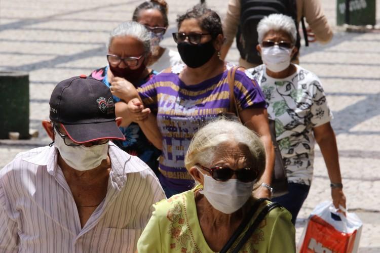 Expectativa de vida no Ceará aumentou 2,1 anos em uma década (Foto: Fabio Lima)