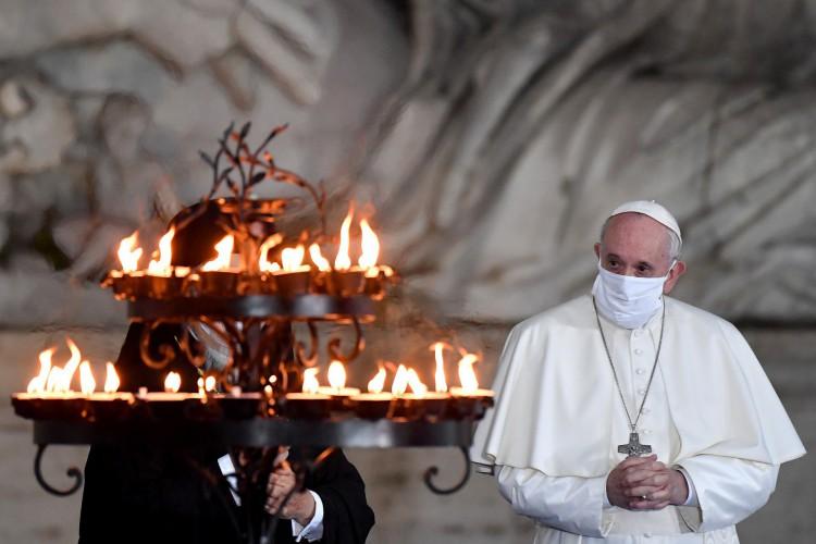 Papa Francisco (Foto:  Andreas SOLARO / AFP)