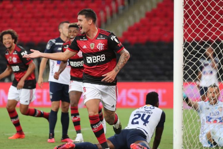 Libertadores: Flamengo derrota Junior Barranquilla por 3 a 1 (Foto: )