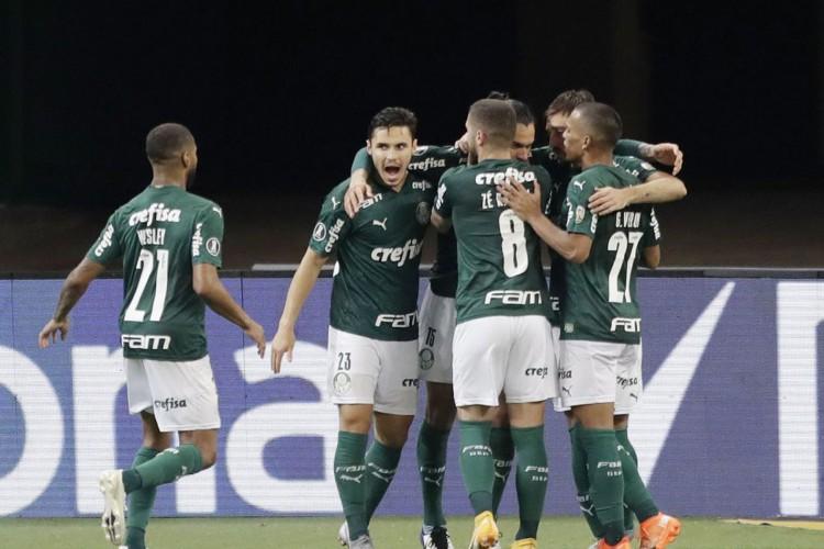 Palmeiras garante melhor campanha da primeira fase da Libertadores (Foto: )