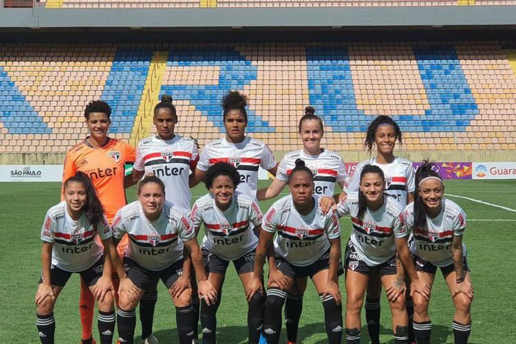 São Paulo goleia time montado às pressas no Paulista Feminino: 29 a 0 (Foto: )