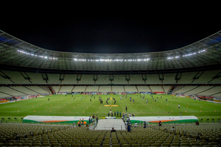 A Arena Castelão é palco da final do Campeonato Cearense 2020 (Foto: Aurélio Alves/O POVO)