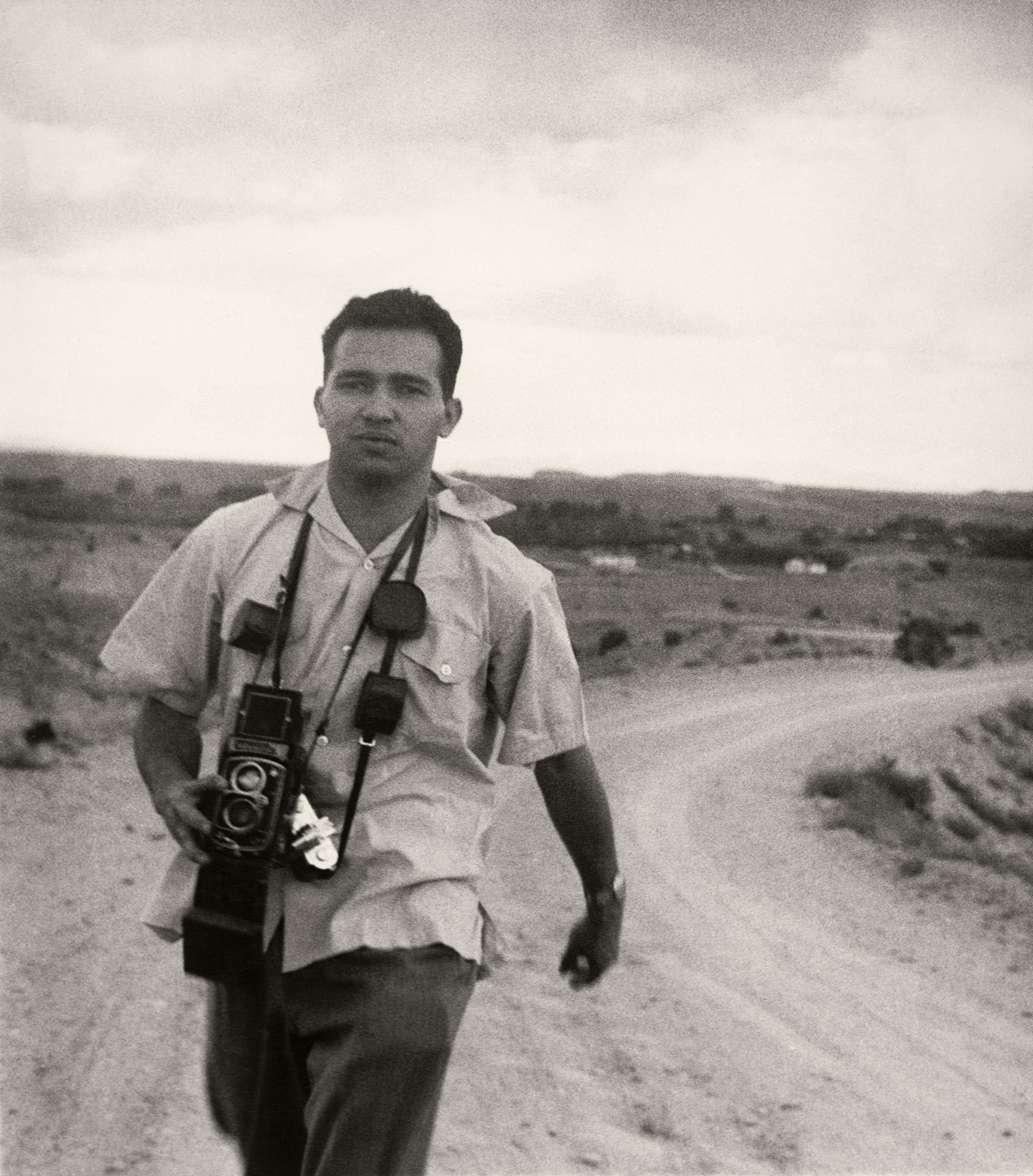 Luciano Carneiro, fotógrafo cearense, cobriu os fatos mais importantes do mundo entre as décadas de 1940 e 1950