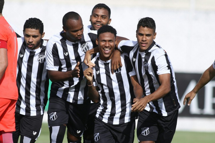 O Ceará venceu o Red Bull Bragantino por 3 a 1 pelo Brasileirão de Aspirantes (Foto: Pedro Chaves/cearasc.com)