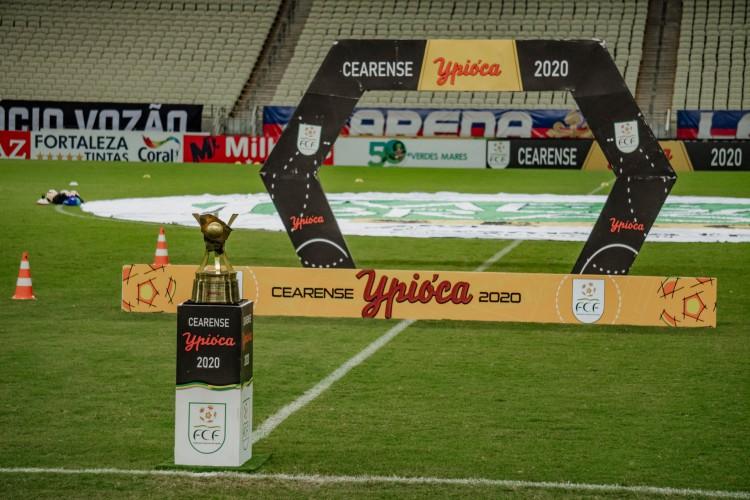 Campeonato Cearense ainda não tem acerto para transmissão na TV aberta (Foto: JÚLIO CAESAR)
