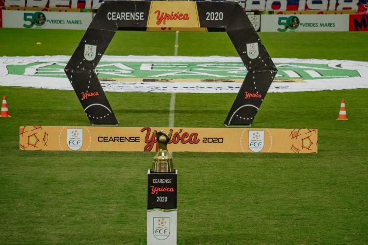 Campeonato Cearense de 2021 começa no dia 10 de fevereiro (Foto: JÚLIO CAESAR)