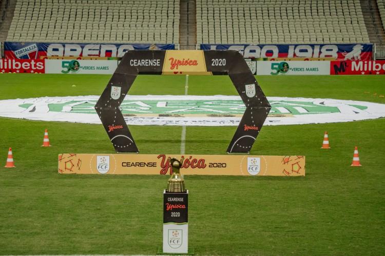 Segunda fase do Campeonato Cearense 2021 terá presenças de Ceará e Fortaleza (Foto: JÚLIO CAESAR)