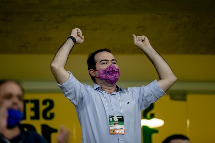 Marcelo Paz afirmou que o Fortaleza dará o acesso ao streaming do Nordeste FC para todos que mantiveram o sócio torcedor (Foto: Aurelio Alves)
