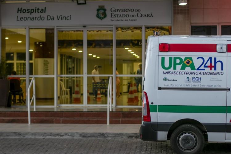 No Hospital Estadual Leonardo Da Vinci, há 159 leitos de UTI disponíveis para adultos, dos quais 118 (74,2%) estão ocupados nesta quinta-feira, 1º de julho (Foto: Aurelio Alves)