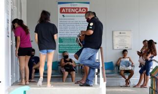 FORTALEZA, CE, BRASIL, 23.10.2020: UPA do bairro Vila Velha. Situação nas UPAS e hospitais com o aumento de casos de Covid.  (Fotos: Fabio Lima/O POVO)