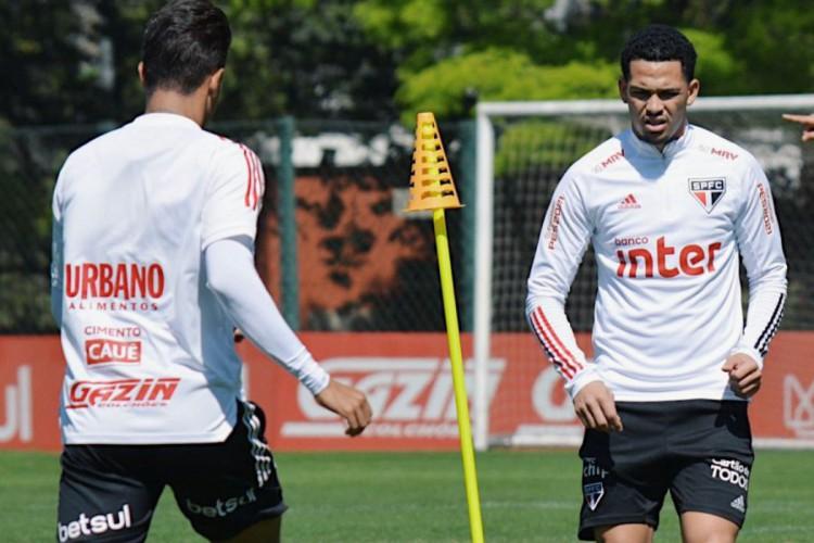 Luciano é dúvida para enfrentar o Fortaleza na Copa do Brasil (Foto: DIVULGAÇÃO/SPFC)