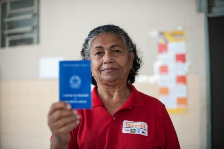Luiza Batista é presidenta da Federação Nacional das Trabalhadoras Domésticas  (Foto:  Carol Melo/Fenatrad)