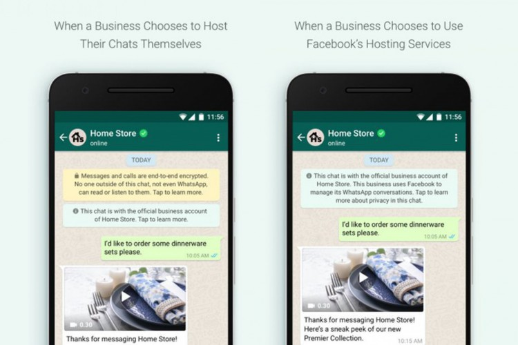 WhatsApp vai avisar ao usuário caso a mensagem não seja criptografada (Foto: Divulgação/WhatsApp)
