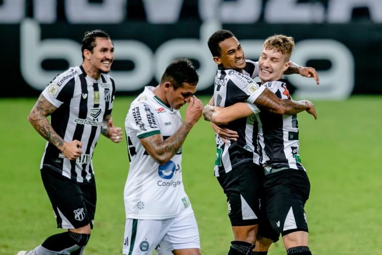 Ceará enfrenta o Coritiba pela Série A do Brasileirão neste sábado, 24, na Arena Castelão (Foto: Aurélio Alves/O POVO)