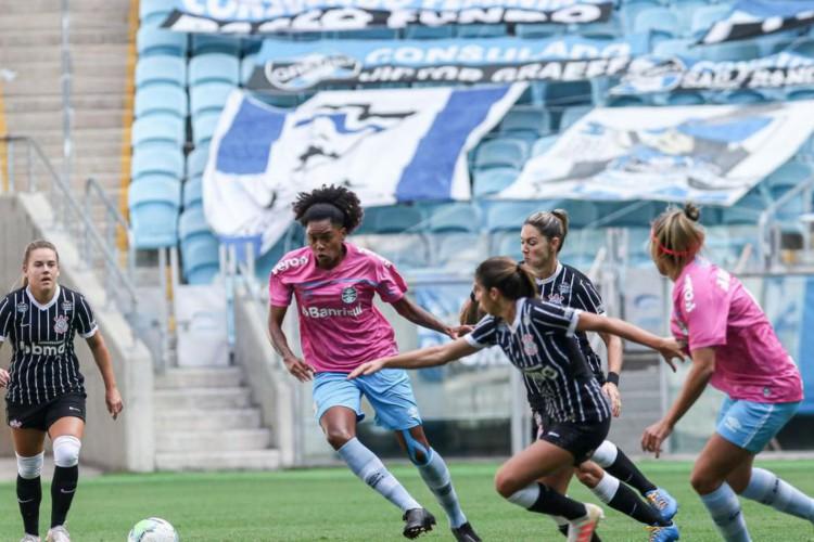 Brasileiro Feminino: Corinthians vence Grêmio em Porto Alegre (Foto: )