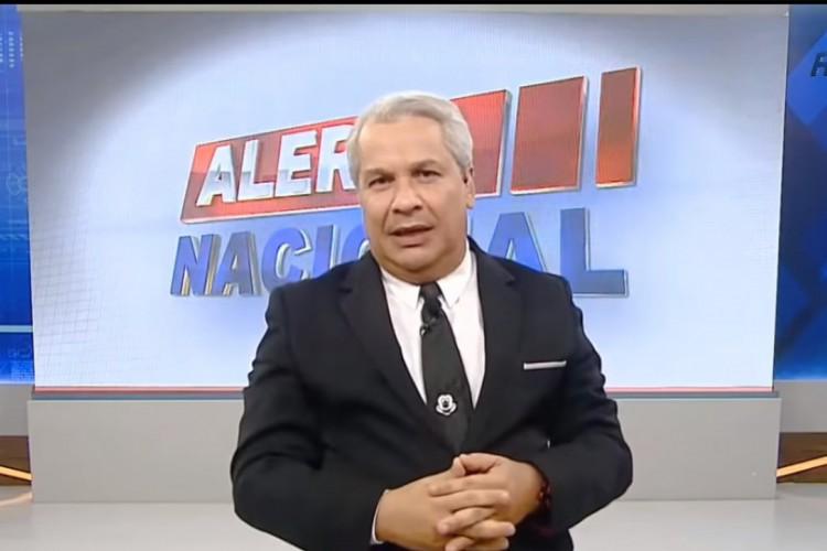 Sikêra Jr. atualmente, é apresentador do Alerta Amazonas, na TV A Crítica, em Manaus, e do Alerta Nacional, na RedeTV (Foto: Reprodução/Instagram)