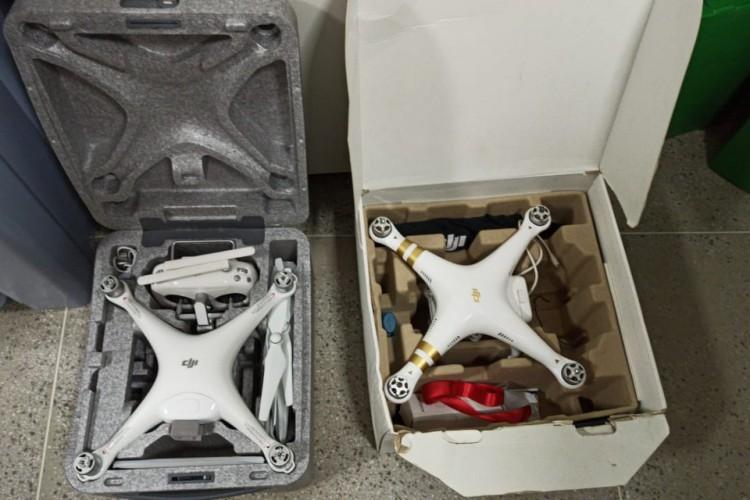 Drones serão testadas nestas terça em simulação para o dia da Eleição Municipal. (Foto: Ascom/PF)
