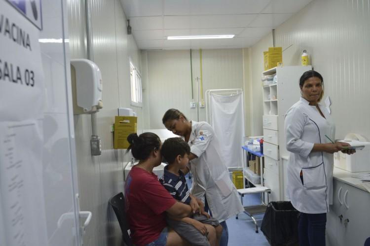 São Paulo - Campanha de vacinação contra febre amarela na Unidade Básica de Saúde Gleba do Pêssego, em Itaquera (Rovena Rosa/Agência Brasil) (Foto: Rovena Rosa/Agência Brasil)