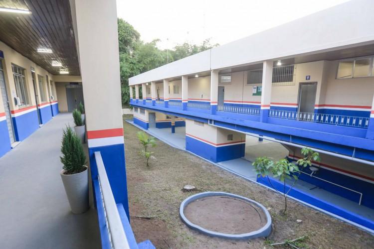Escola Presidente Costa e Silva em  Belém do Pará (Foto: Jader Paes/Agência Pará)