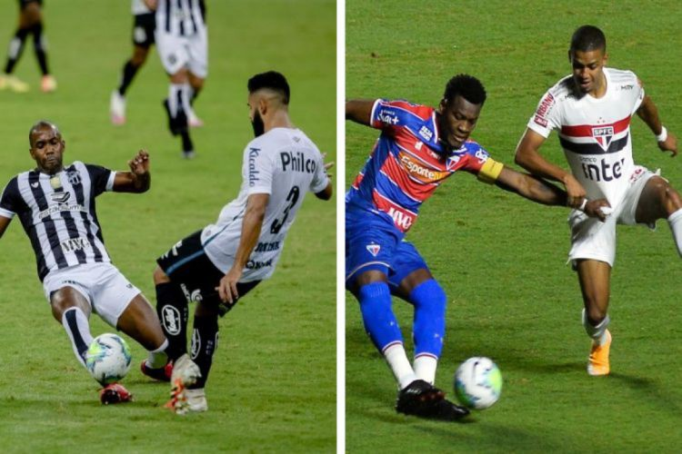 Ceará estreia nas oitavas da Copa do Brasil; Fortaleza foi eliminado para o São Paulo (Foto: Aurelio Alves/ O POVO - BRUNO ULIVIERI/AE)