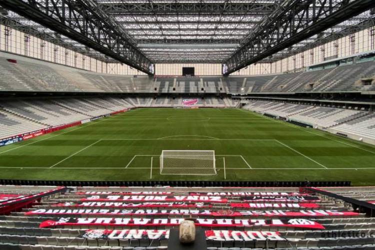 Flamengo e Athletico-PR jogam hoje na Arena da Baixada pela Copa do Brasil. Confira onde assistir ao vivo, que horas é o jogo e a provável escalação de cada time (Foto: Athletico Paranaense/Twitter)