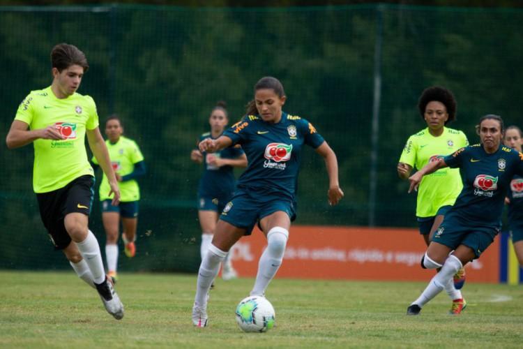 Sem amistosos, Pia valoriza períodos de treinos da seleção feminina (Foto: )