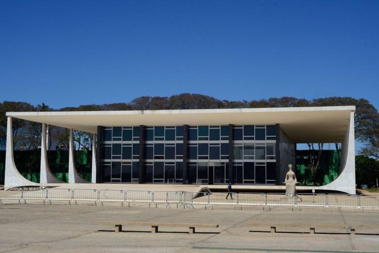 Fachada do edifício sede do Supremo Tribunal Federal - STF (Foto: Marcello Casal Jr/Agência Brasil)