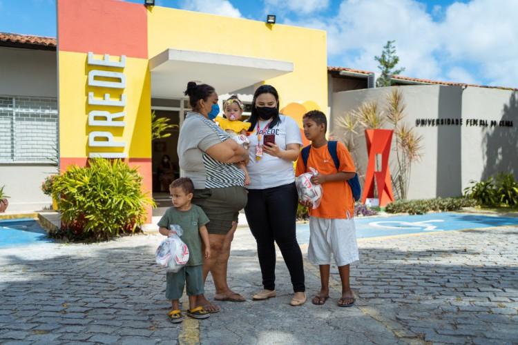 A instituição funciona na Rua Professor Carlos Lobo, Fortaleza (Foto: Divulgação Iprede)