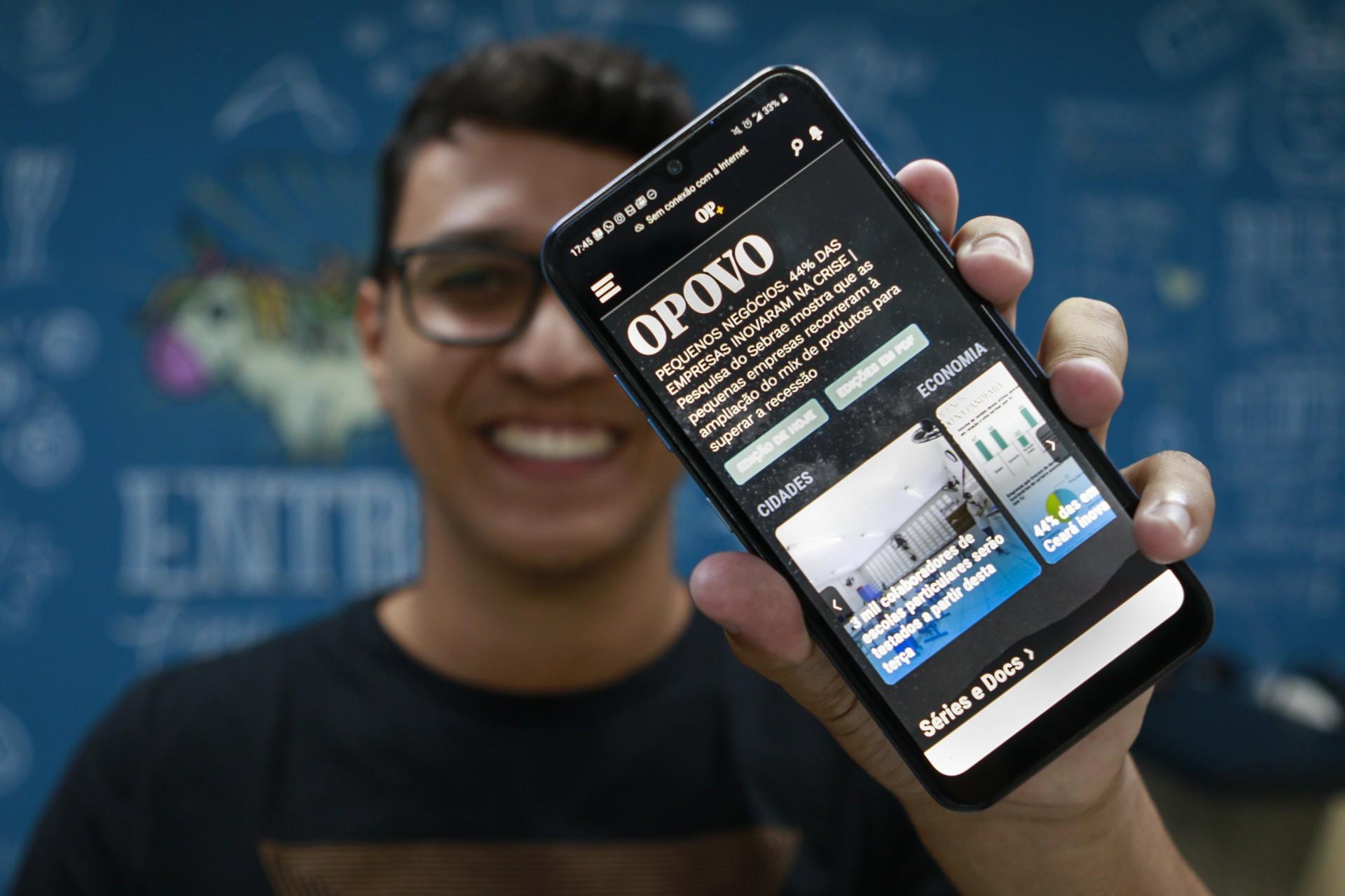 Plataforma O POVO+ foi vencedora em uma das mais importantes premiações do jornalismo digital da América Latina.
