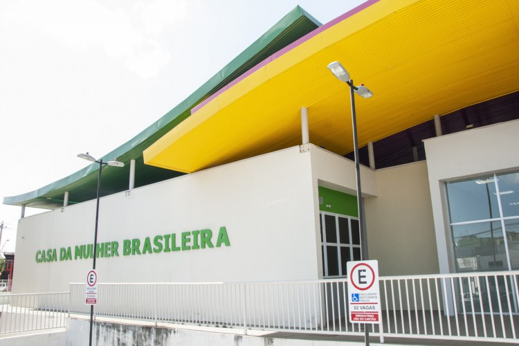 CASA da Mulher Brasileira que fica no Couto Fernandes (Foto: ©ARIEL GOMES)