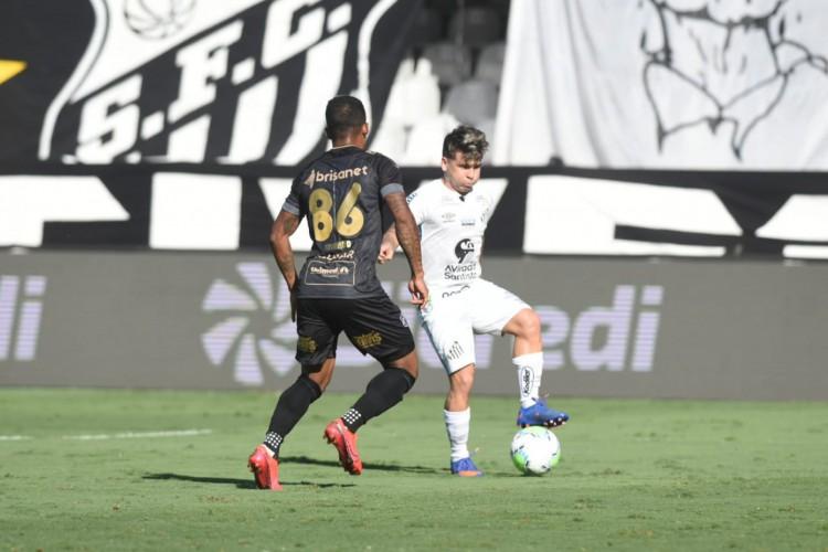 Santos de Soteldo (foto) recebe hoje o San Lorenzo pela Libertadores; você pode assistir à transmissão ao vivo pela TV aberta e por pay-per-view (Foto: Ivan Storti/Santos FC)