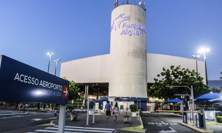 Movimentação no Aeroporto de Fortaleza em 2020 foi mais de 55% menor do que no ano anterior.