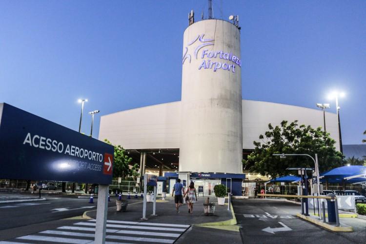 Movimentação no Aeroporto de Fortaleza em 2020 foi mais de 55% menor do que no ano anterior. (Foto: Barbara Moira)