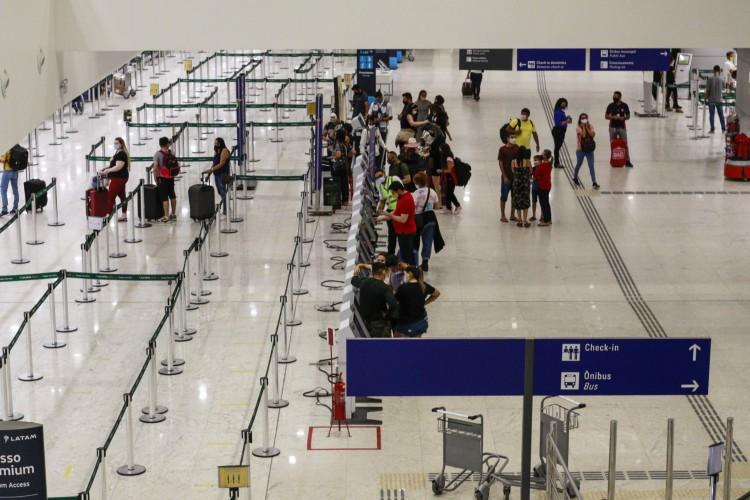 A Sesa segue em negociação para construir um Centro de Atendimento no Aeroporto Internacional de Fortaleza (Foto: Barbara Moira)