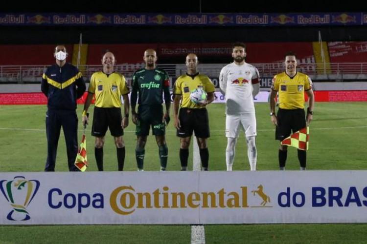 Palmeiras e Bragantino fazem o jogo da volta na próxima quinta-feira, 5 (Foto: CESAR GRECO/SEP)