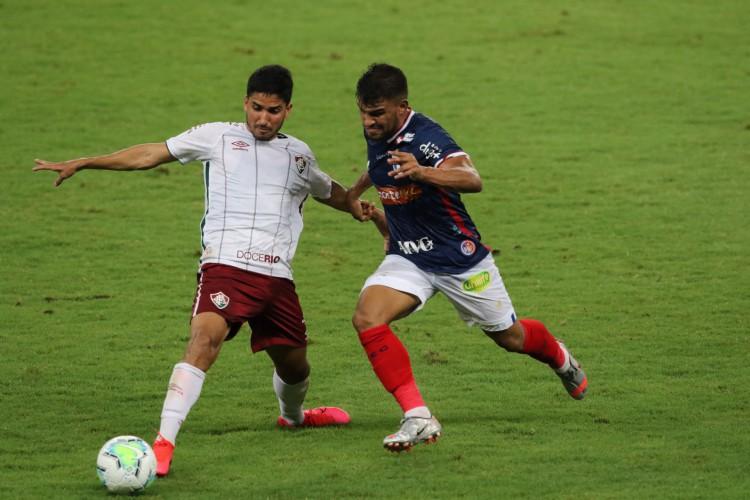 Entre os jogos de hoje, domingo, 20 de junho, o Fortaleza recebe o Fluminense na Arena Castelão, pelo Brasileirão (Foto: Fabio Lima)