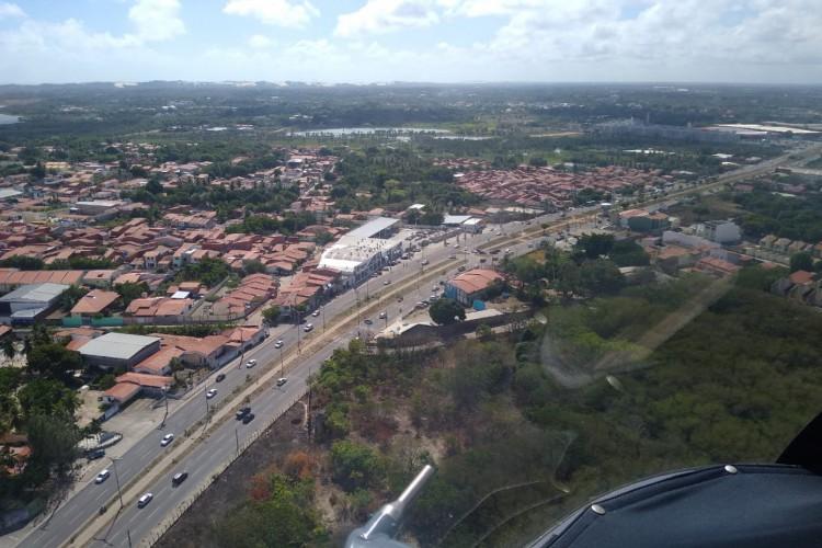 Fiscalização em rodovias estaduais e praias de grande circulação no fim de semana (Foto: Divulgação/SSPDS)