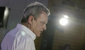 FORTALEZA, CE, BRASIL, 03.11.2020:  Candidato a prefeito Sarto Nogueira se reune  com empreendedores da José Avelino em galpão na praia de Iracema  (Fotos: Fco Fontenele/O POVO)
