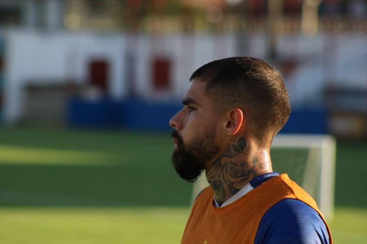 Quintero, zagueiro do Fortaleza, falou sobre reformulação no elenco do clube (Foto: Bruno Oliveira/Fortaleza EC)