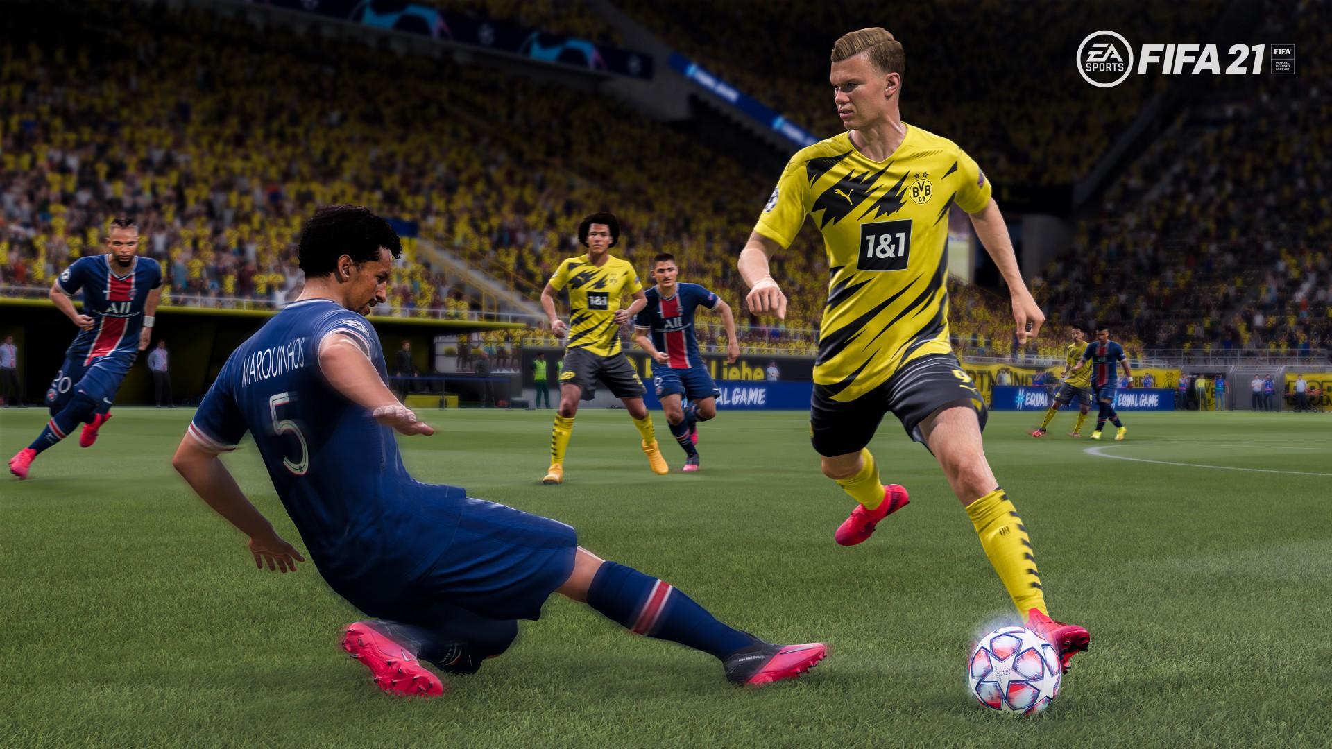 Mesmo com mudanças interessantes, FIFA 21 parece mais do mesmo.