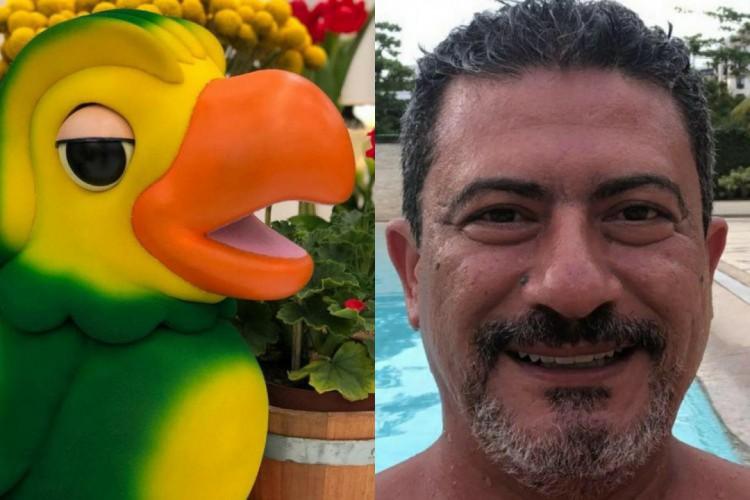 Tom Veiga, intérprete do personagem Louro José no programa