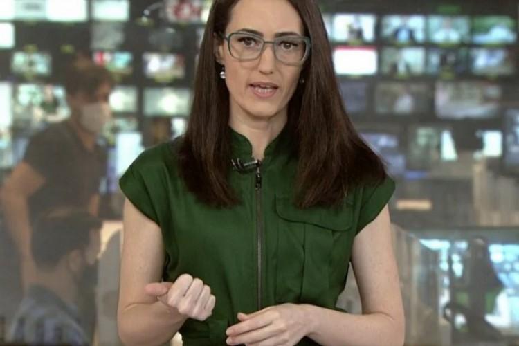 Raquel Novaes era âncora do jornal de notícias matinal da GloboNews desde 2010 (Foto: Reprodução/ GloboNews)